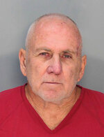 In this Jan. 22, 2020 photo made available by the Miami-Dade Department of Corrections, Robert Eugene Koehler is under arrest. Authorities say Koehler is the