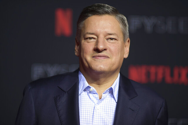 FILE - In this Sunday, May 6, 2018, file photo, Ted Sarandos attends the 2018 Netflix FYSee Kick-Off Event at Raleigh Studios Hollywood in Los Angeles. Netflix added a flood of new subscribers amid the coronavirus pandemic and also offered clues to a possible successor for founding CEO Reed Hastings, who on Thursday, July 16, 2020, named the company's chief content officer, Sarandos, as co-CEO. (Photo by Richard Shotwell/Invision/AP, File)