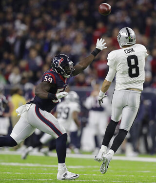 Raiders Texans Football