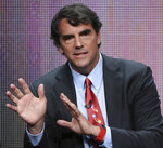 FILE - In this Aug. 5, 2015 file photo, executive producer Tim Draper participates in the