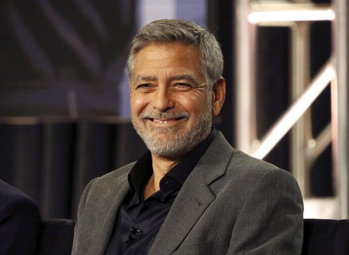 George Clooney participates in the