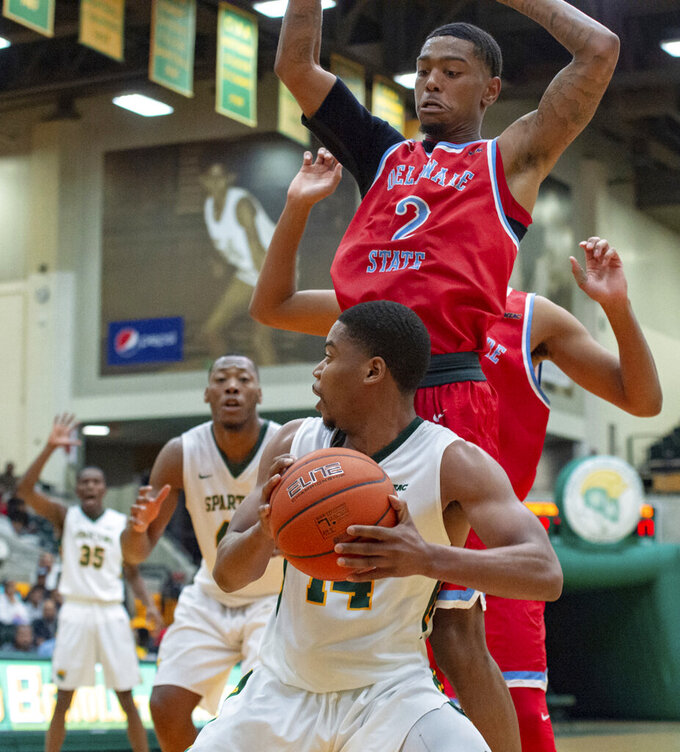 Norfolk State wins MEAC opener 77-63 behind Jamerson