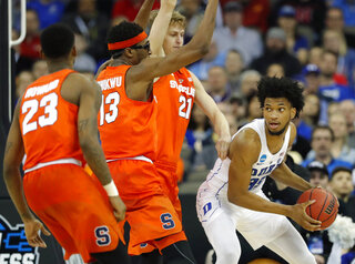NCAA Syracuse Duke Basketball