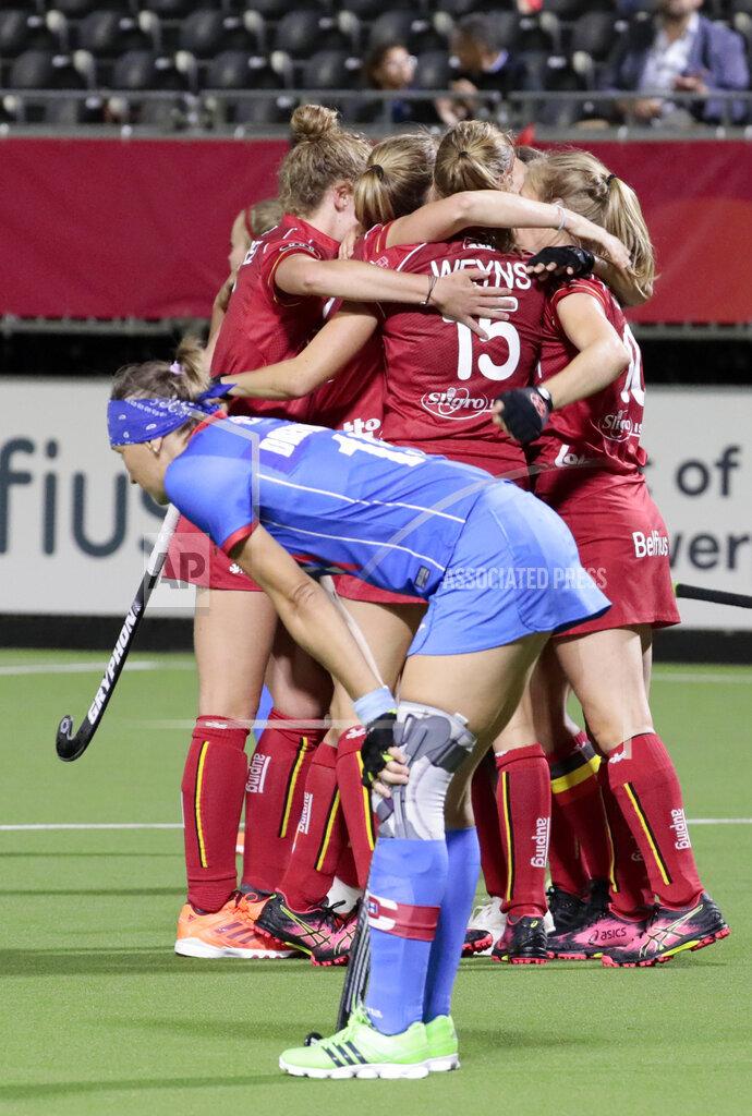 Belgium European Hockey Championships