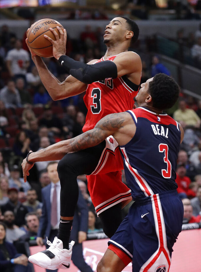 Washington Wizards at Chicago Bulls 3/20/2019