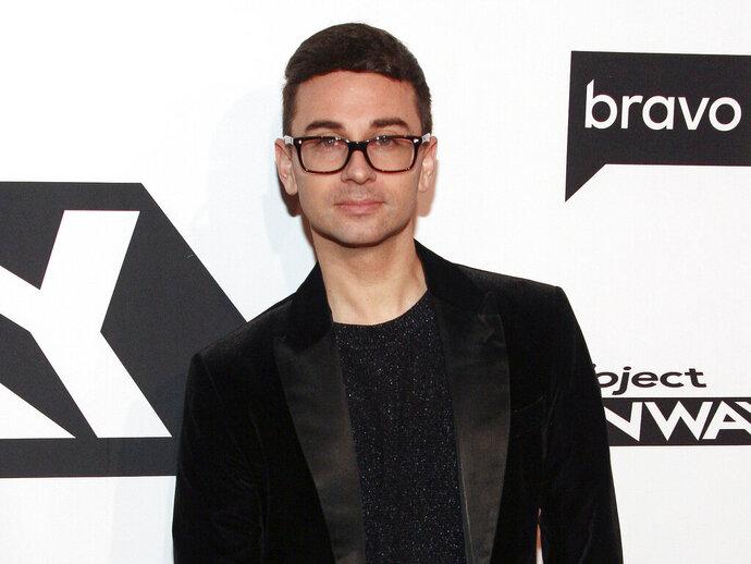 Christian Siriano attends the season premiere of Bravo's