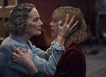 This image released by Universal Pictures shows Barbara Marten, left, and Mackenzie Davis in a scene from