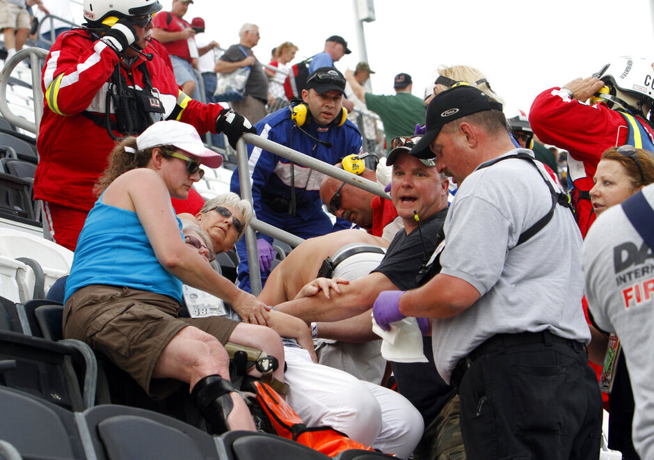 Injured Spectators