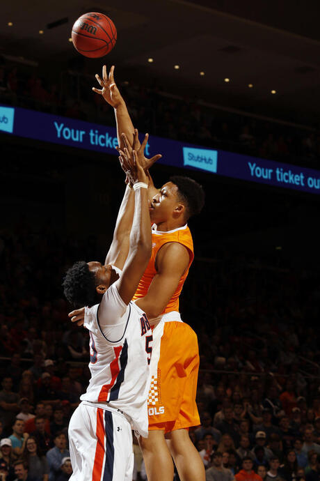 Tennessee Auburn Basketball