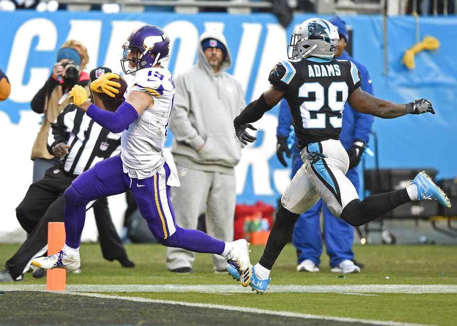 Adam Thielen, Mike Adams