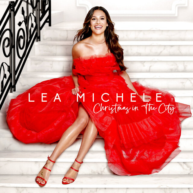 "This cover image released by Sony Music Masterworks shows ""Christmas in New York"" by Lea Michele. (Sony Music Masterworks via AP)"