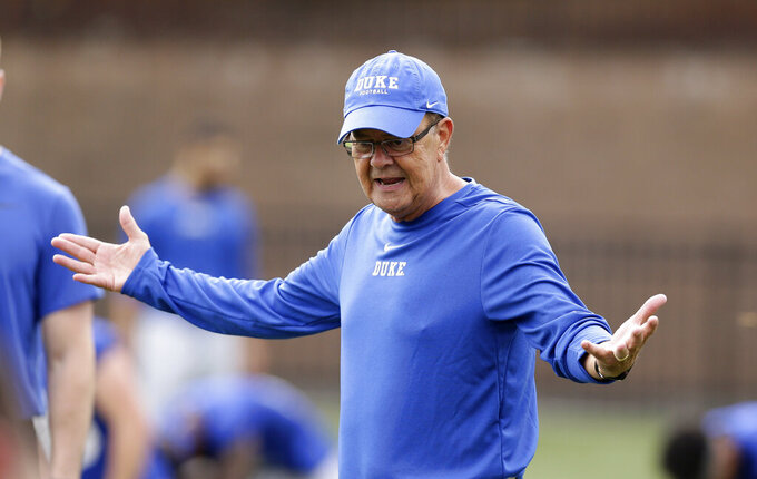 With Alabama game looming, Duke hands QB reins to Harris