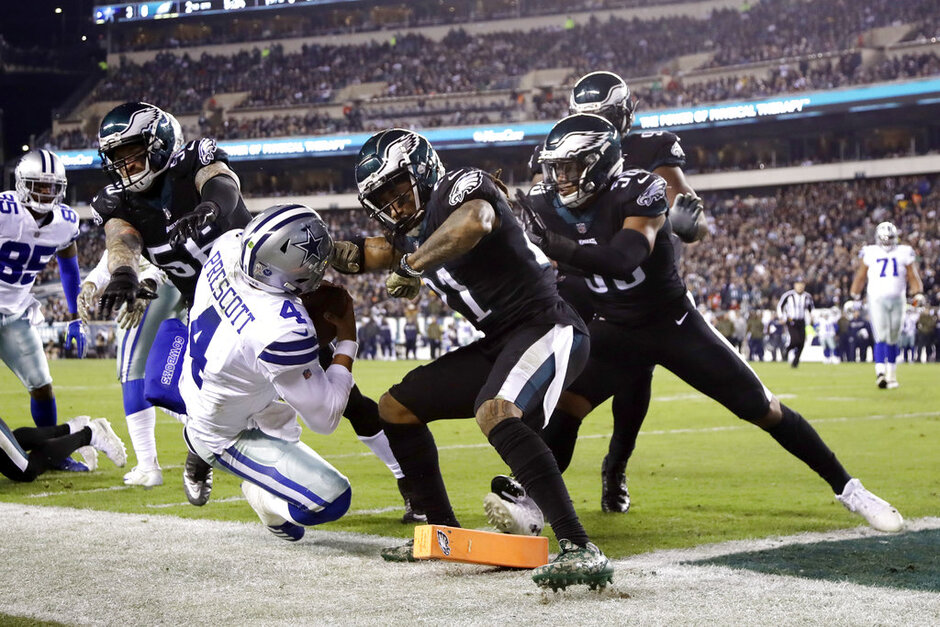 Cowboys Eagles Football