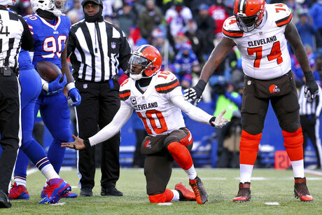 Browns Griffin Released Football