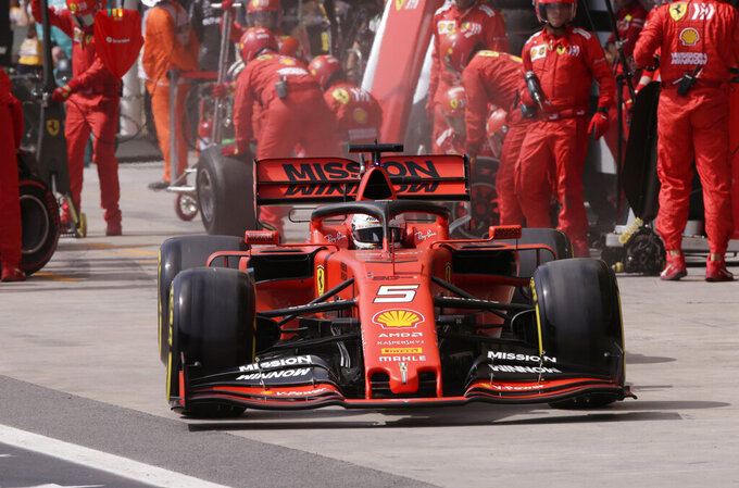 Ferrari's troubles deepen at Brazilian GP