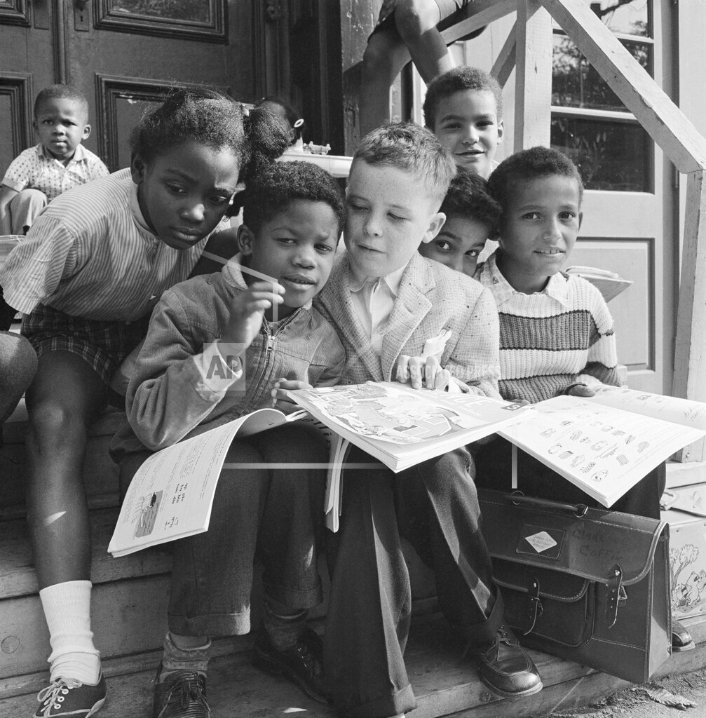 Watchf AP A  NY USA APHS373785 African-American Integration: Schools