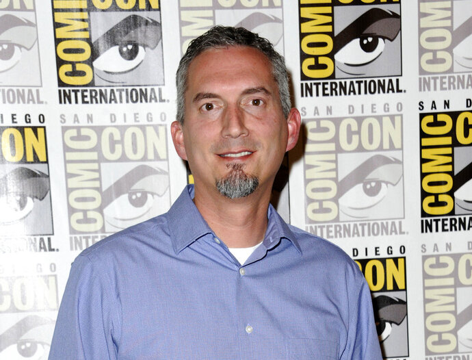 FILE - In this July 11, 2015 file photo, James Dashner, author of