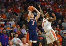 Virginia Clemson Basketball
