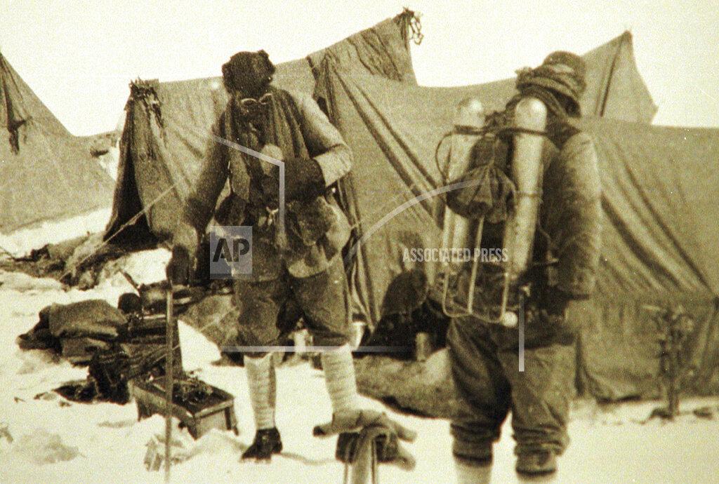 AP I NEPAL NEPAL MOUNT EVEREST EXPEDITION 1924