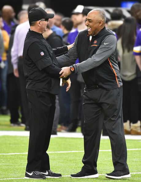 Marvin Lewis, Mike Zimmer