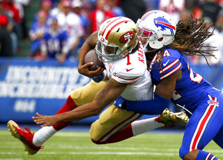 APTOPIX 49ers Bills Football