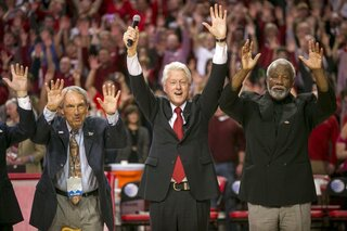 Eddie Sutton, Bill Clinton, Nolan Richardson