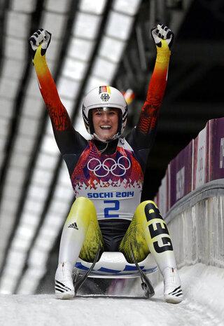 German Greatness Luge Olympics