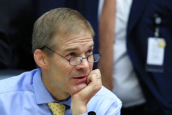 Jim Jordan, Donald Trump