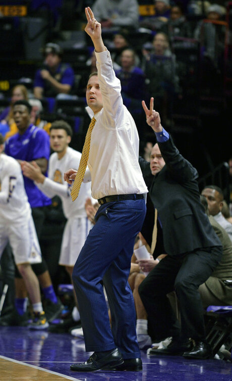 Georgia LSU Basketball