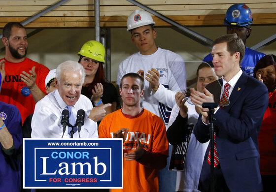 Joe Biden, Conor Lamb