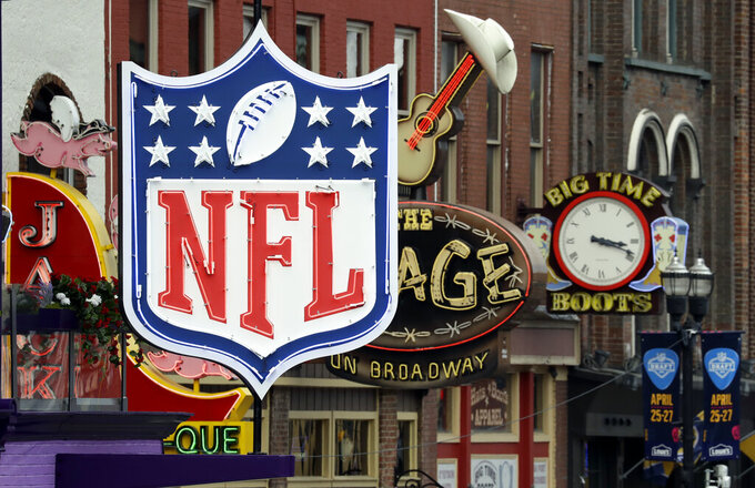 Tip your band, say honky tonk musicians, during NFL Draft