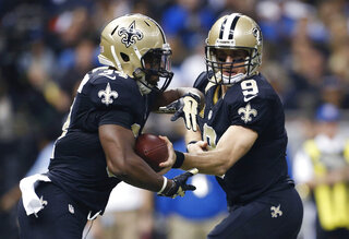 Drew Brees, Tim Hightower