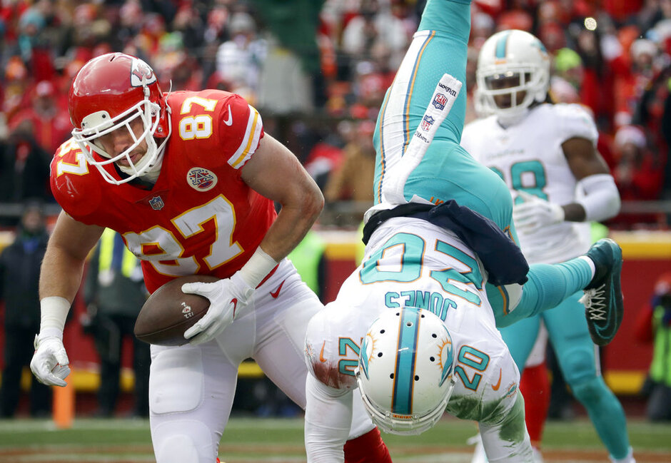 Travis Kelce, Reshad Jones