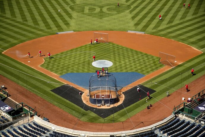 A heart is visible in center field with the letters