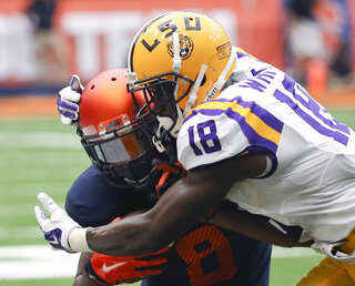 LSU Syracuse Football