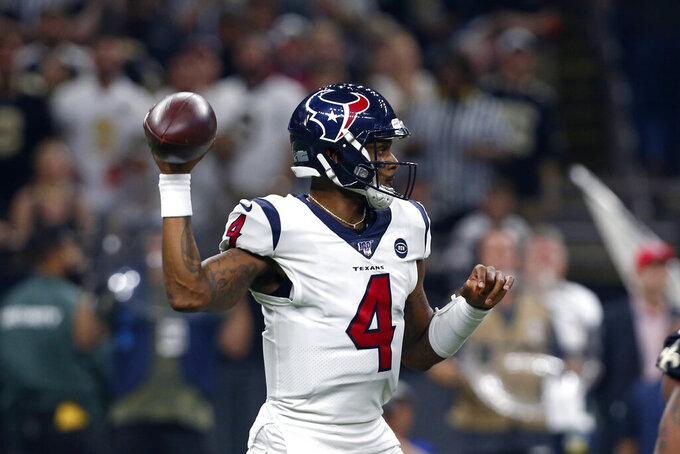 Houston Texans at New Orleans Saints 9/9/2019