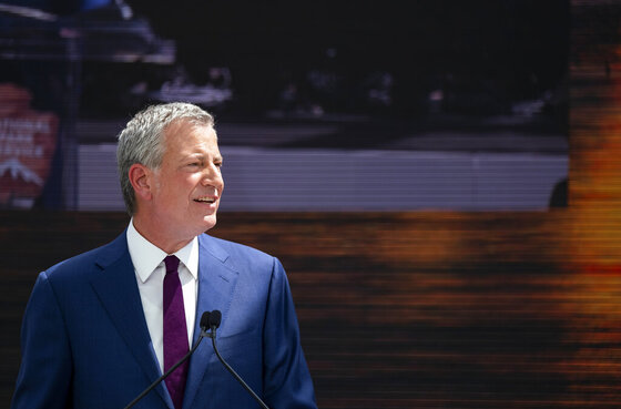 Election 2020 Bill de Blasio