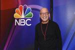 FILE - In this Monday, May 13, 2019 file photo, Howie Mandel, from the cast of