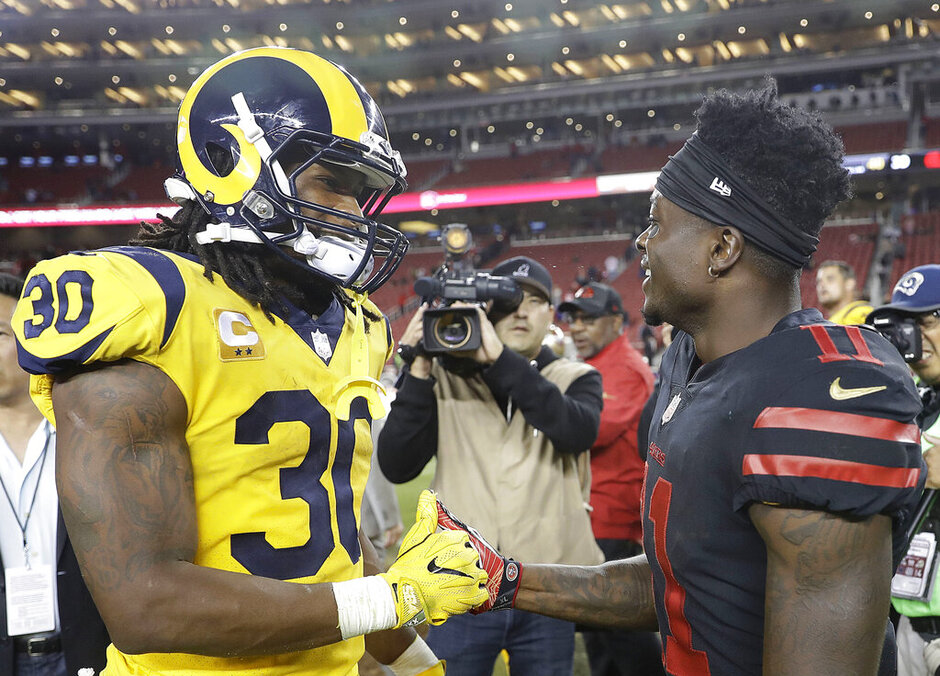 Todd Gurley, Marquise Goodwin