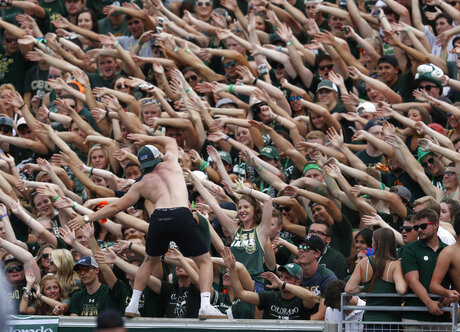 Fans at Colorado State