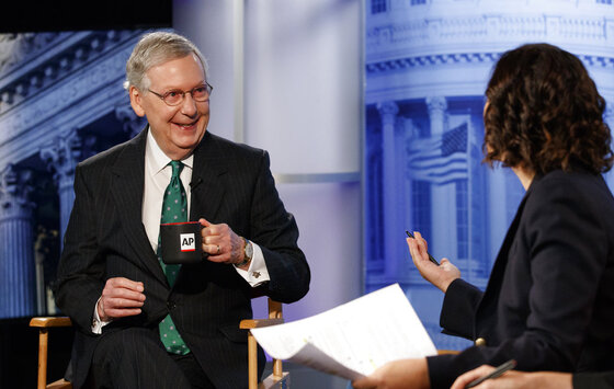 Mitch McConnell, Julie Pace
