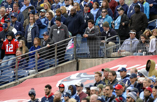 Titans Fan Injured Football