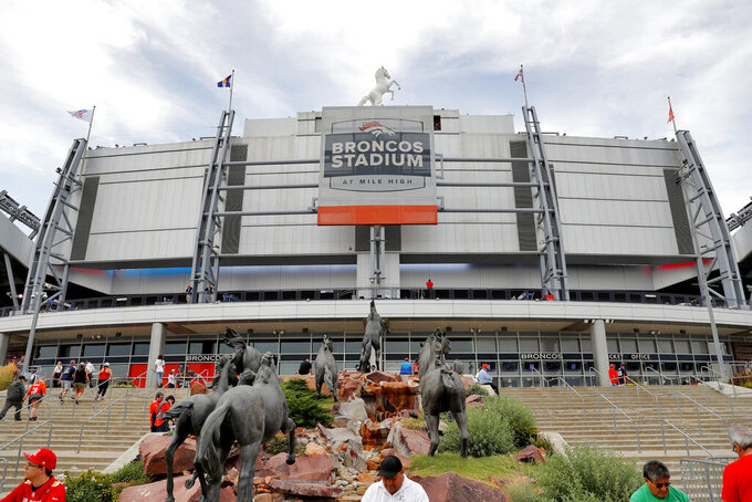 APNewsBreak: Broncos, Empower ink 21-year naming rights deal