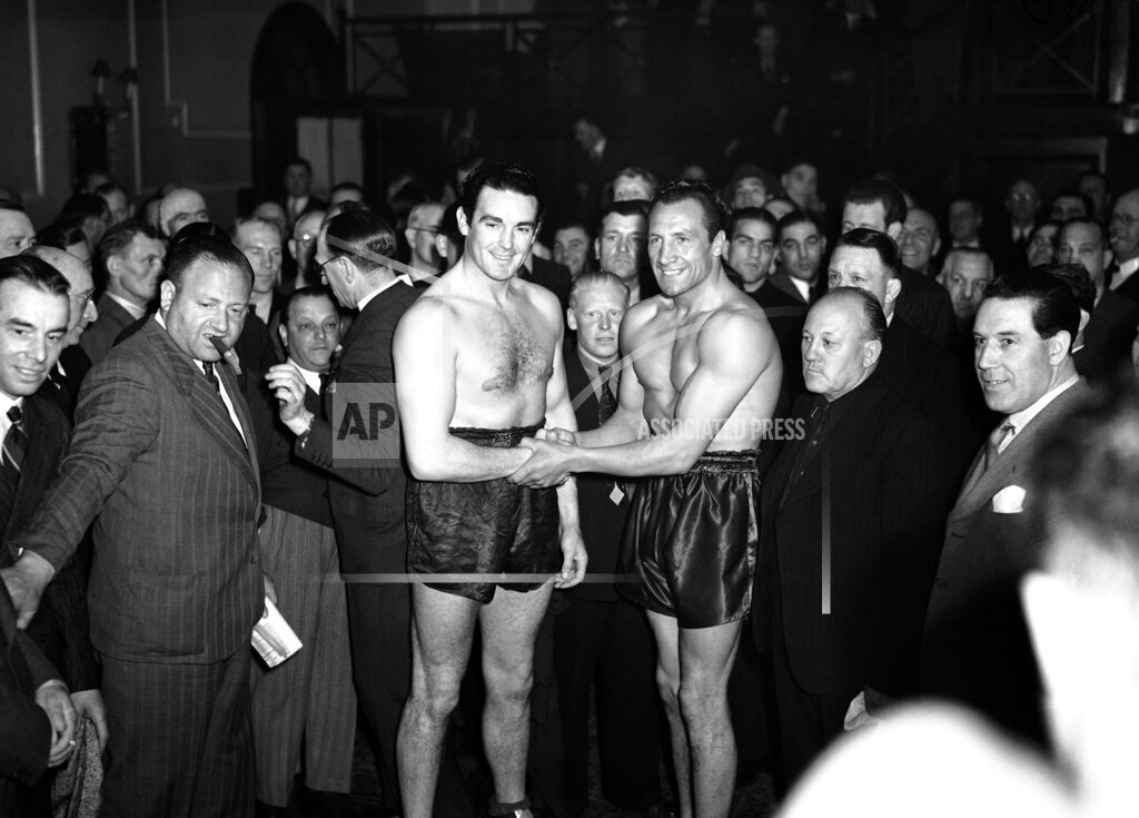 Watchf AP S BOX  XEN APHSL40969 Boxing Jack Doyle and Eddie Phillips
