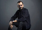 FILE - In this June 13, 2016, file photo, Ringo Starr poses for a portrait in New York. Starr turns 80 on July 7. (Photo by Scott Gries/Invision/AP, File)