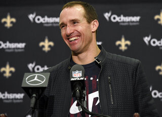 Saints Brees Football
