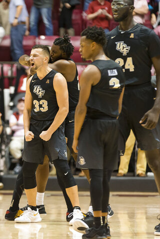 UCF Alabama Basketball