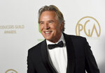 Don Johnson arrives at the 2020 Producers Guild Awards at the Hollywood Palladium on Saturday, Jan. 18, 2020, in Los Angeles, Calif. (AP Photo/Chris Pizzello)