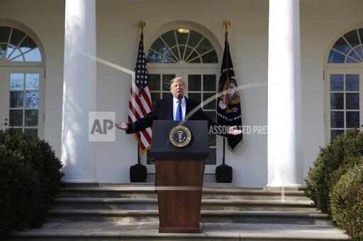 APTOPIX Trump Border Security