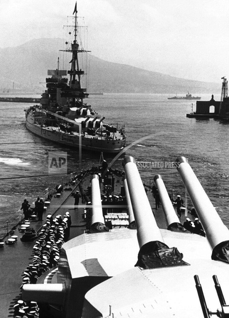 Watchf AP I   XSE APHSL21471 WWII Italian Battleships